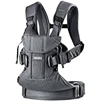 BABYBJÖRN Baby Carrier One Air, 3D Mesh, Anthracite, 2018 Edition