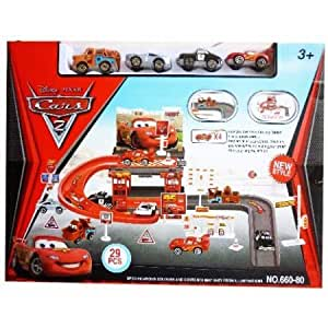 Shopaholic Parking Garage New Style Attractive 29 Pcs Car Set For Kids -660-80