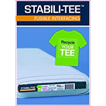 """Stabili-TEE (R) Fusible Interfacing 60"""" x 10 yards bolt: T-Shirt Quilts Made Easy"""