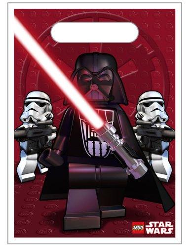 Lego Star Wars Party Geschenktüten 8 Stück - 23 x 17 cm (Party Lego Supplies Wars Star)