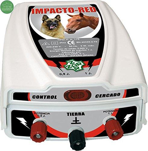 Pastor eléctrico Impacto-Red. Para perros y caballos. - Cerca Eléctrica exterior a...