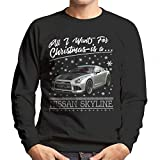 All I Want For Christmas Is A Nissan Skyline Men's Sweatshirt