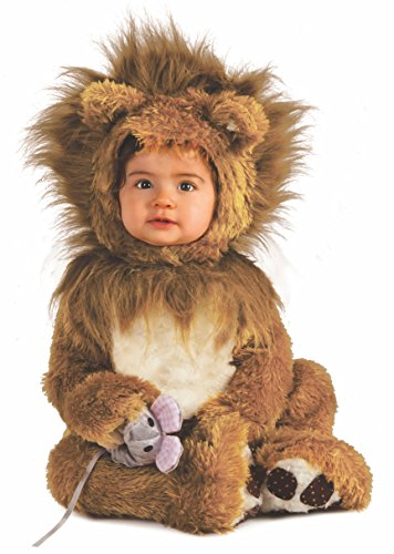 Rubie's it885172-12/18 - leoncino costume, super baby, taglia 12/18 mesi