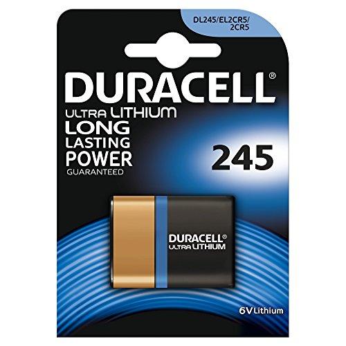 Duracell 2CR5 Lithium-Hochleistungsbatterie, 1 Stück Duracell Crv3 Batterie