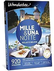 WONDERBOX Cofanetto Regalo - Mille & Una Notte Relax E DELIZIE - 920 SOGGIORNI per 2 Persone