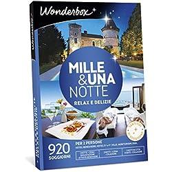 Wonderbox Cofanetto Regalo per Coppia - Mille & Una Notte Relax E DELIZIE - 920 SOGGIORNI per 2 Persone