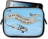 AngelStar 13743 Let Your Dreams Take Flight Small Tablet iPad Case, Mini