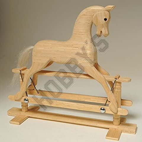 Rocking Horse Miniature Matchstick Modell Bastelset von Hobby ist