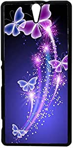 FCS® Printed 2D Designer Hard Back Case For Sony Xperia C5 Ultra