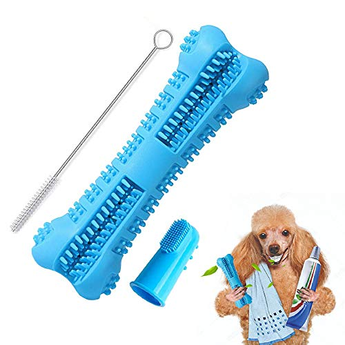 KIKILIVE Cepillo Dientes Perro - Juguetes Masticar