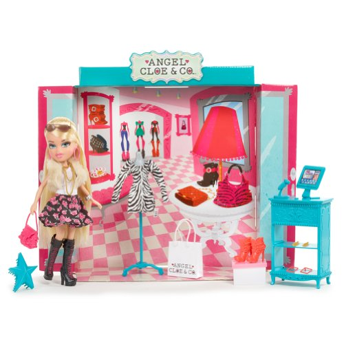MGA Entertainment 515616E4C - Bratz Boutique Puppe- Angel Cloe & Co