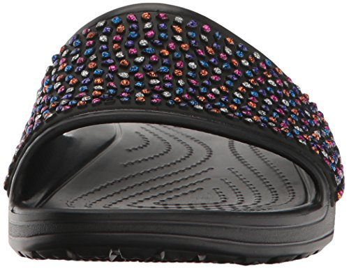 CROCS - SLOANE Embellished Slide black multi Black Multi