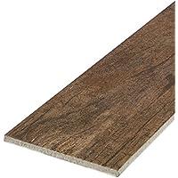"""""""Timber Country Suede"""" Bodenfliese 15x60,8 cm, Feinsteinzeug Fliese mit Holzoptik und Holzstruktur (Musterfliese)"""