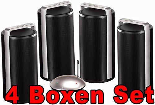 Funklautsprecher Funkboxen AKTIV Boxen Stereo Drahtlose Lautsprecher bis zu 100m Reichweite