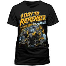 Cid a Day To Remember-They Came From the Garage Camiseta, Hombre, Multicolor, XL