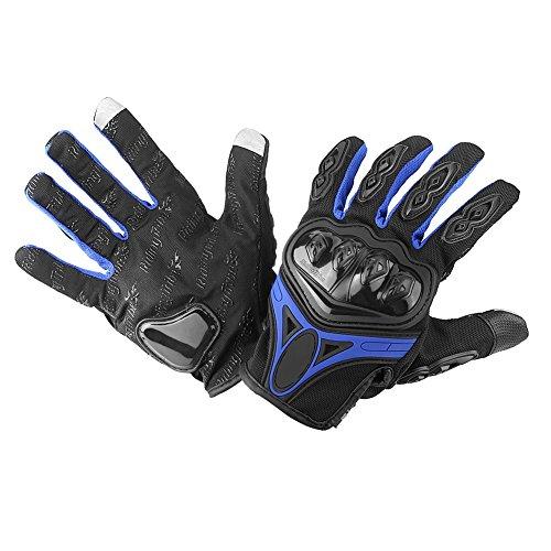 Greensen Fahrradhandschuhe Motorrad Anti Rutsch Handschuhe Winddicht Winterhandschuhe Leichte Radhandschuhe Volle Fingerhandschuhe Handschuhe ideal für Laufen Fahren Radfahren Wandern