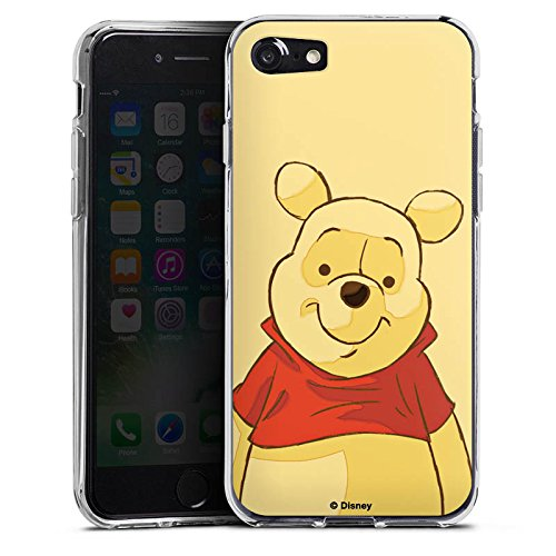 Apple iPhone X Silikon Hülle Case Schutzhülle Disney Winnie Puuh Merchandise Fanartikel Silikon Case transparent