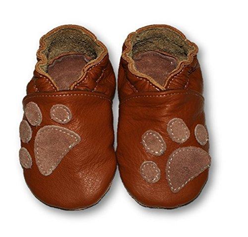 Fiorino , Chaussures souple pour bébé (garçon) noir Cowboy Taille S Pfote