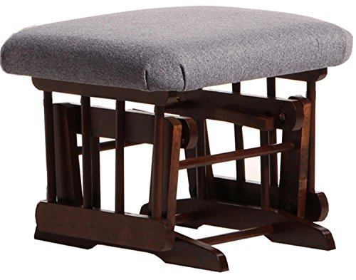 Post Glider (Dutailier D90-610-62-3128 Ultramotion Ottoman for Sleigh and 2 Post Gliders, Dark Grey by Dutailier)