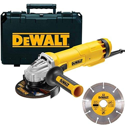 DeWalt DWE4217KD Miniamoladora 125mm 1200W + 1 disco
