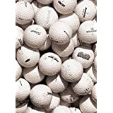Golf Papier Peint Photo/Poster Autocollant - Balles De Golf, Sepia, 2 Parties (250 x 180 cm)