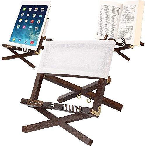 book-holder-reading-rest-ipad-stand-for-table-desk-the-black-directors-chair-is-a-portable-adjustabl