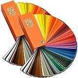 RAL K5 Farbfächer zwei Buch Set seidenmatt und Glanz