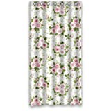 LESIF 152,4x 182,9cm Dusche Vorhang–Eleganz Pink Kleiner Blumenstrauß Blumen Vorhang für die Dusche