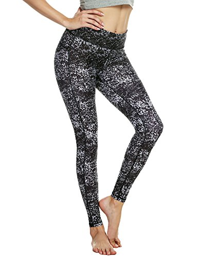 Ekouaer - Legging de sport - Femme 5123 Blanc