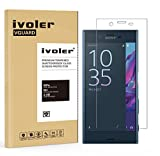 Sony Xperia XZ Protection écran, iVoler® Film Protection d'écran en Verre Trempé Glass Screen Protector Vitre Tempered pour Sony Xperia XZ - Dureté 9H, Ultra-mince 0.20 mm, 2.5D Bords Arrondis- Anti-rayure, Anti-traces de doigts,Haute-réponse, Haute transparence- Garantie de Remplacement de 18 Mois