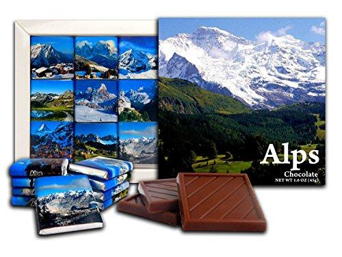 Newsbenessere.com 51icNULyDcL DA CHOCOLATE Candy Souvenir ALPI Set regalo di cioccolato 13x13cm 1 scatola