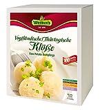 Werner´s Vogtländische / Thüringische Klöße - Großgebinde - 4 x 0,75 kg in einem Karton, entspricht 4 x 25 Klößen, glutenfrei, laktosefrei, ohne Farbstoffe, ohne zugesetzte Aromen
