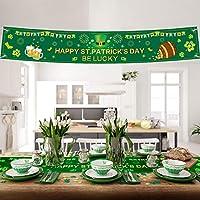 Banderines de San Patricio Bandera Irlandesa de Trébol 72 x 12 Pulgadas  Decoración de Fiesta Colgantes e3c0ca0bd75