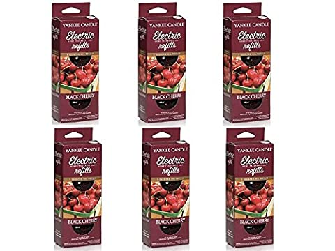 6 x TWIN PACKS (12 REFILLS) YANKEE CANDLE ELECTRIC SCENT