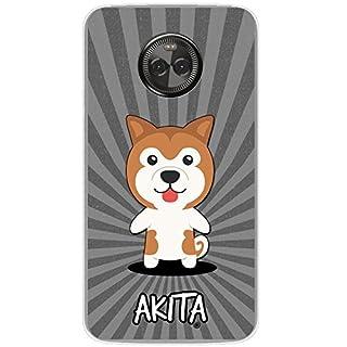 Fancy A Snuggle Japanese Akita, Haykita Ken Clip On Hard Case For Motorola Moto X4