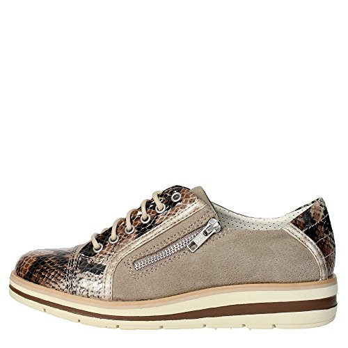 Trivict L155-S16136-G Sneakers Donna Camoscio Taupe Taupe 39