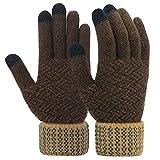 Vodabang Touchscreen Handschuhe Herren Winter Warme Gloves Herren Softshell Winterhandschuhe Männer Dicke Handschuhe Outdoor für adfahren Skifahren Laufen Klettern