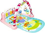 Baby Play Gym Kick and Play Mat Newborn Activity Gym Lay & Play 3 in 1 Fitness Music and Lights Fun Piano