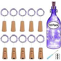 PATISZON luz de botella luz de bricolaje 10x20 LED luz ambiente, lámparas decoradas, Súper