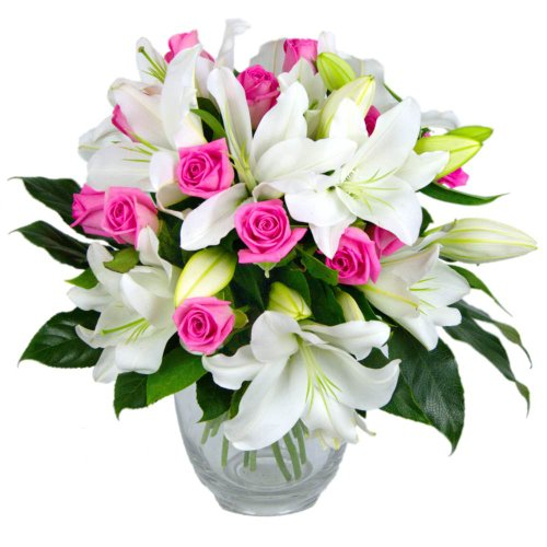 clare-florist-rose-and-lily-fresh-flower-bouquet-splendid-white-lilies-and-gorgeous-pink-roses