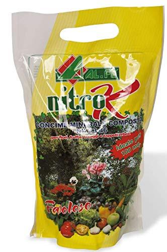 nitro k concime con azoto e potassio in confezione da 2 kg