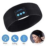 Auriculares de Dormir Bluetooth 5.0 5.0 Sleep Eye Mask, 3D Sleepphones inalámbricos Sleeping Travel Music Eye Cover con altavoz estéreo HD ultrafino (diadema)
