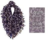 Kabello Women's Cotton Scarf (Blue, 45 g)