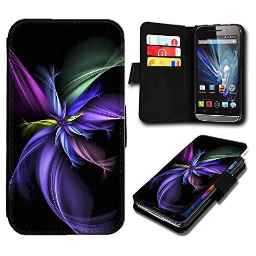 Book Style HTC Desire 626G Premium PU-Leder Tasche Flip Brieftasche Handy Hülle mit Kartenfächer für HTC Desire 626G - Design Flip SV82