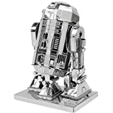 Fascinations Metal Earth MMS250 - 502660, Star Wars R2D2, Konstruktionsspielzeug, 2 Metallplatinen, ab 14 Jahren