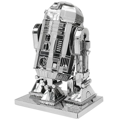 Metal Earth Fascinations MMS250 - 502660, Star Wars R2D2, Konstruktionsspielzeug, 2 Metallplatinen, ab 14 Jahren