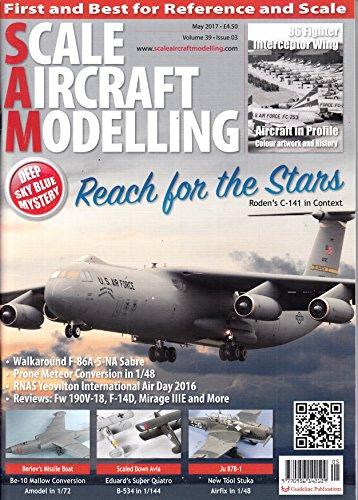 Scale Aircraft Modelling (UK) 5 2017 Zeitschrift Magazin Einzelheft Heft Modellbau