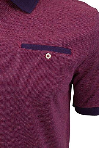 Ben Sherman Pique-Poloshirt Parachute Purple