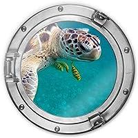 Glas-Bild Wandbilder Druck auf Glas 100x70 Deko Tiere Meeresschildkröte