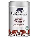 Williamson Bellas tè inglese Colazione Cilindro Flojo 100g del tè